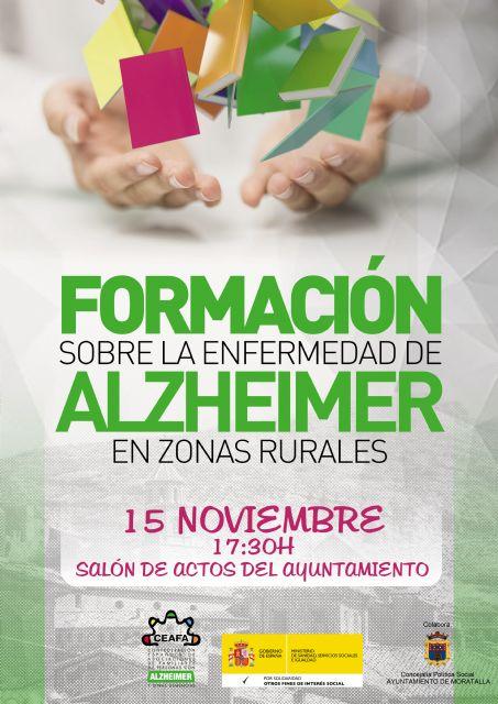 La Confederación Española de Alzheimer se acerca a Moratalla para ofrecer una jornada de formación e información sobre la enfermedad del alzheimer - 1, Foto 1