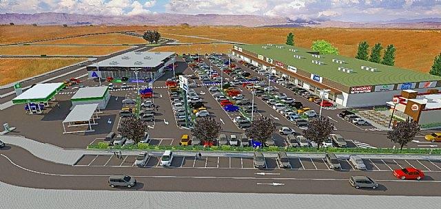 Puerto de Mazarrón ya tiene su nuevo gran retail park, Foto 1