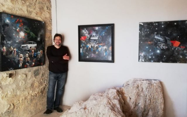 El Plan de Espacios Expositivos lleva la obra de Antonio Tapia y José Miguel Muñoz a salas de Blanca y Puerto Lumbreras - 1, Foto 1