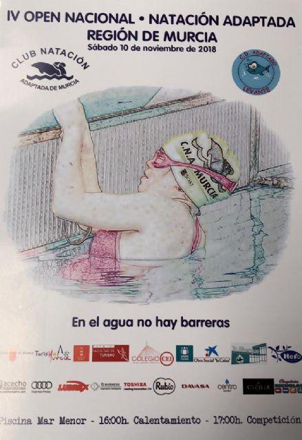 Un centenar de nadadores participan en el Open Nacional de Natación Adaptada de la Región de Murcia - 2, Foto 2