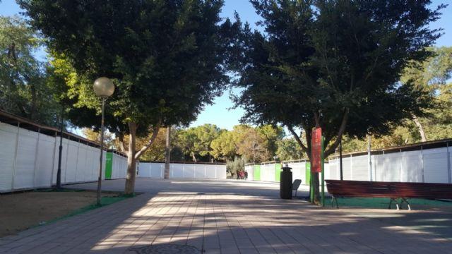 Cambiemos Murcia denuncia que aún no se han retirado las casetas de la Semana de la Ciencia y la Tecnología en el Malecón - 5, Foto 5