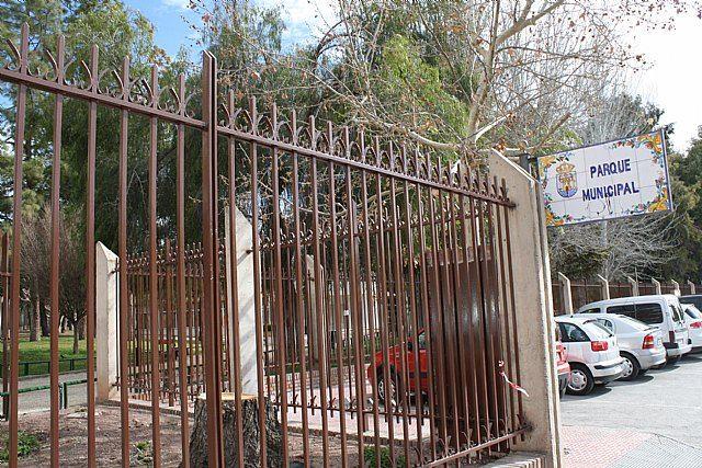Mañana jueves y el viernes el parque municipal Marcos Ortiz permanecerá cerrado por trabajos de mantenimiento del recinto, Foto 1