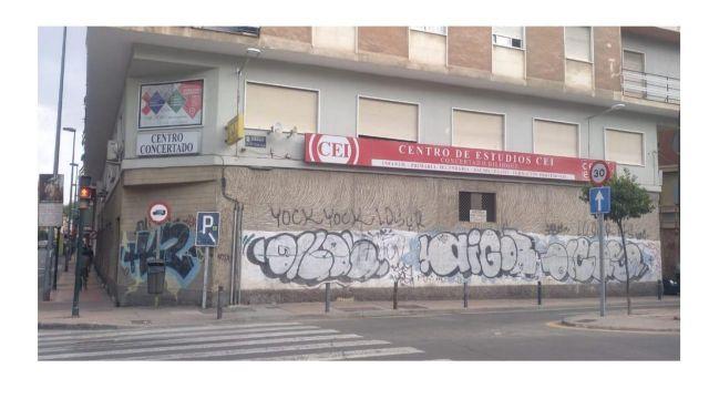 La Huerta y el Río Segura protagonistas de un mural en el barrio de San Antolín - 2, Foto 2