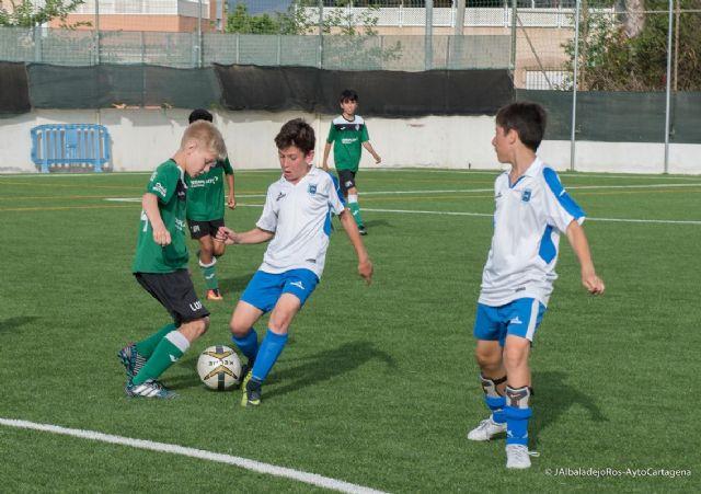 Publicados los horarios de la tercera jornada de la Liga Comarcal de Fútbol Base - 1, Foto 1