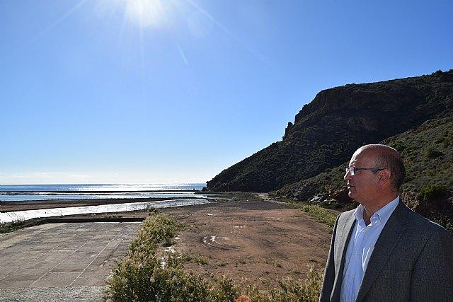 Ciudadanos denuncia la extrema lentitud de los trabajos de regeneración de la bahía de Portmán - 1, Foto 1