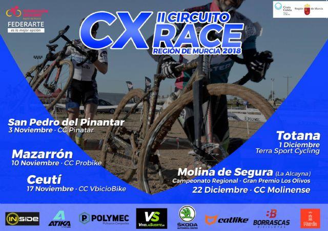 150 ciclistas estarán en Mazarrón para participar en el II circuito CX Race de la Región de Murcia, Foto 2