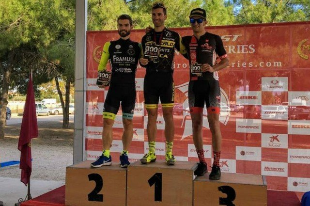 "New podium of Framusa Garden Grasshopper in the III Ultramaraton MTB ""100ypico"" of Lorca - 1"