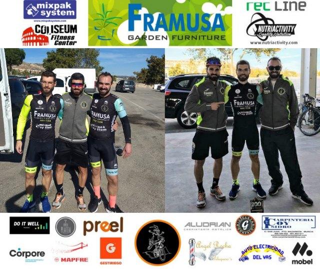Nuevo podio de Framusa Garden Saltamontes en la III Ultramaraton MTB 100ypico de Lorca, Foto 3