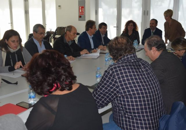 The first deputy mayor attends the Environmental Advisory Council in which the declaration of the Gredas de Bolnuevo is approved as a Natural Monument