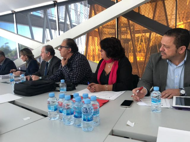 The first deputy mayor attends the Environmental Advisory Council in which the declaration of the Gredas de Bolnuevo is approved as a Natural Monument, Foto 2