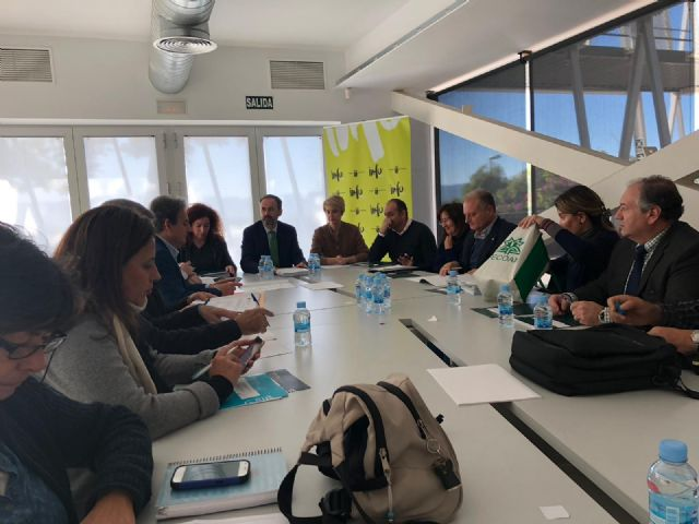 The first deputy mayor attends the Environmental Advisory Council in which the declaration of the Gredas de Bolnuevo is approved as a Natural Monument, Foto 3