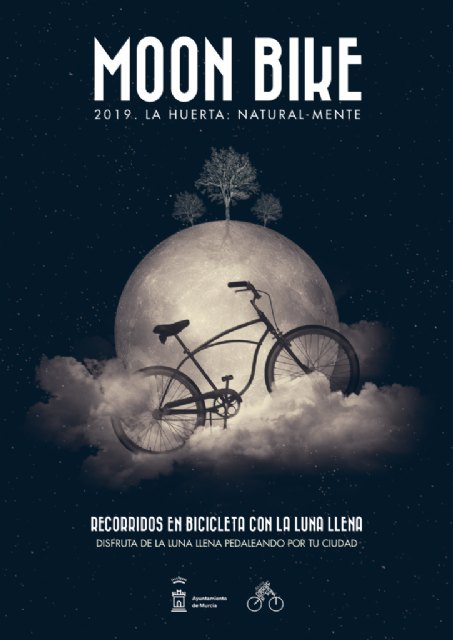 La última Moon Bike del año recorrerá los principales jardines de Murcia - 1, Foto 1