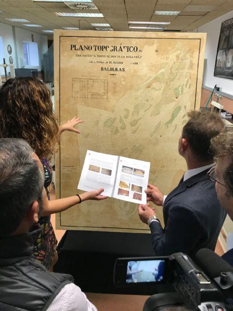 El Archivo Municipal cuenta con un Plano Topográfico del año 1872 de la Hacienda Valderas - 1, Foto 1