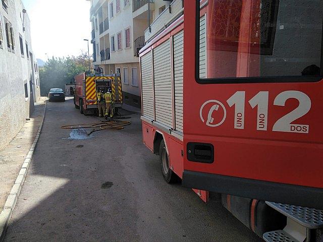 Incendio de edificio abandonado en Fuente Álamo - 1, Foto 1