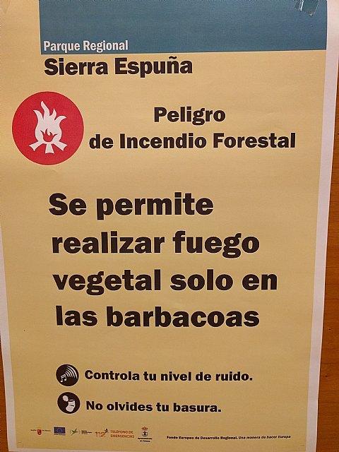 Mañana sólo se pueden efectuar fuegos vegetales con motivo de la romería de Santa Eulalia en las barbacoas habilitadas en El Ángel y El Grifo, Foto 1