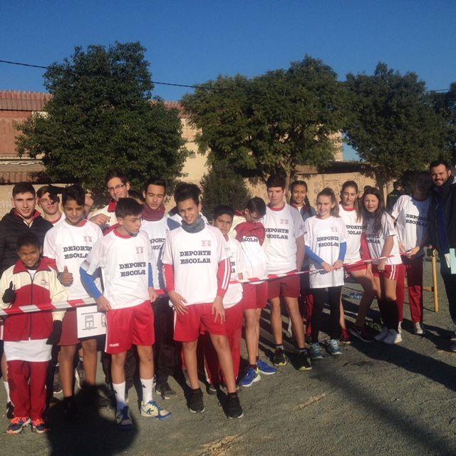 Más de 300 estudiantes participan en el Cross de Secundaria y Bachiller en Torre-Pacheco - 5, Foto 5