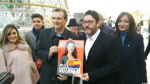 Ciudadanos promueve una campaña para captar el voto por correo de los catalanes residentes en la Región de Murcia - 2, Foto 2