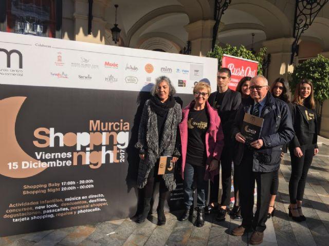 La 7a Murcia Shopping Night ofrecerá descuentos, música, degustaciones, sorteos y actividades para los más pequeños - 1, Foto 1