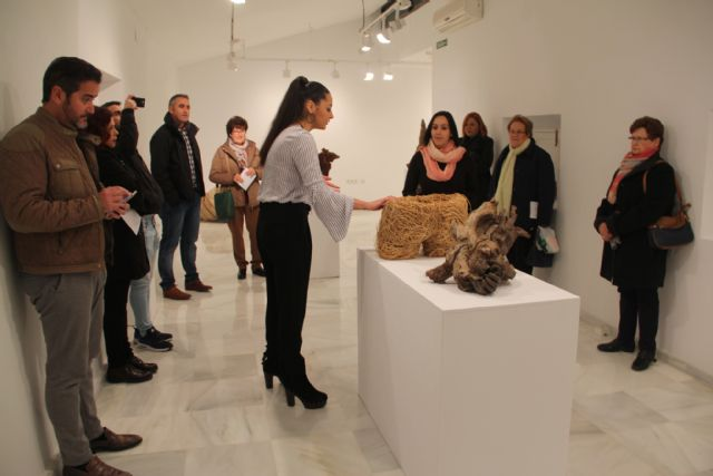 Noemí Yepes presenta su exposición Eka Abassic en Puerto Lumbreras - 1, Foto 1