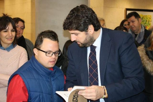 López Miras destaca su compromiso para poner en valor a todas las personas, con independencia de sus capacidades - 2, Foto 2