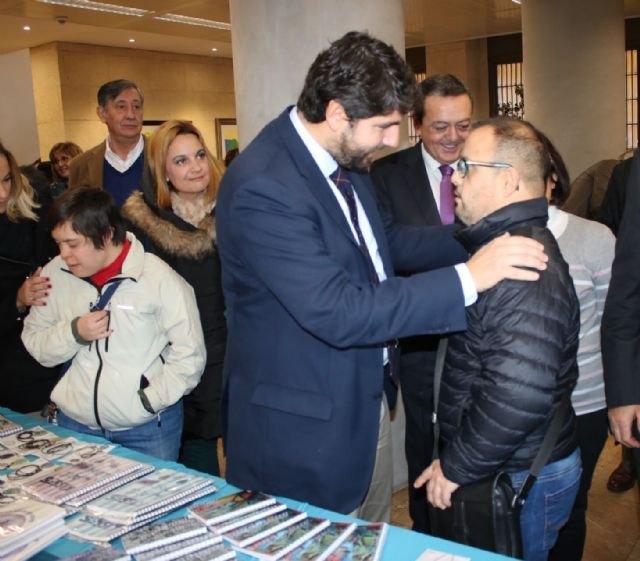 López Miras destaca su compromiso para poner en valor a todas las personas, con independencia de sus capacidades - 3, Foto 3
