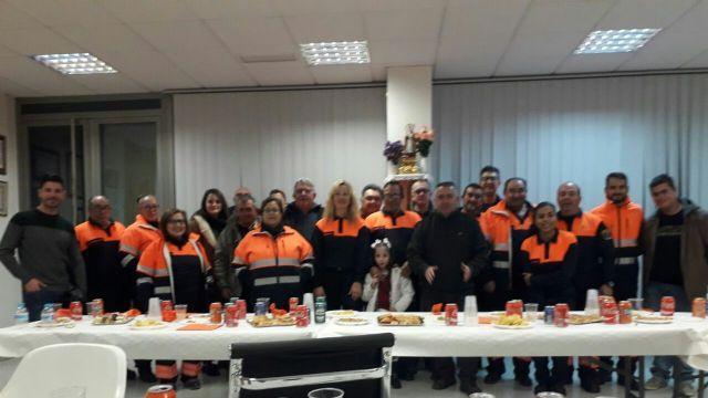 Reconocimiento a la labor de Protección Civil de Alhama en el día de su patrón, Foto 1