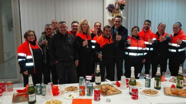 Reconocimiento a la labor de Protección Civil de Alhama en el día de su patrón, Foto 2
