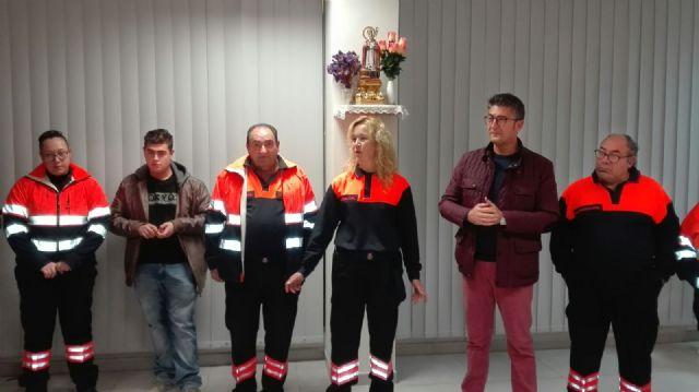 Reconocimiento a la labor de Protección Civil de Alhama en el día de su patrón, Foto 3