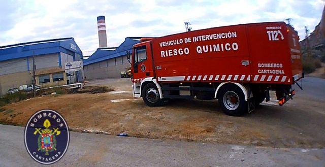 Falsa alarma de escape de gas en Escombreras - 1, Foto 1