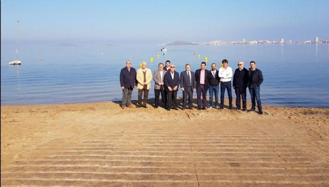 La Comunidad instala cuatro puntos de acceso a embarcaciones de recreo en el Mar Menor para fomentar la navegación responsable - 1, Foto 1