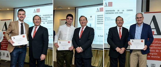 Premian a tres alumnos de la UPCT por sus propuestas en Lo Pagán, Mula y Cartagena - 1, Foto 1