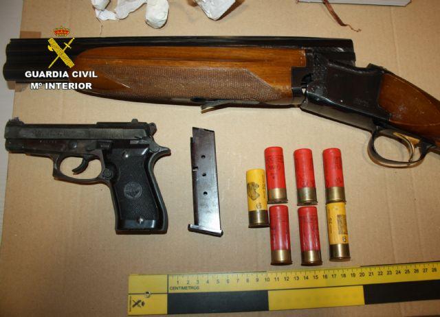 La Guardia Civil desmantela un activo punto de venta de cocaína en Ceutí - 2, Foto 2