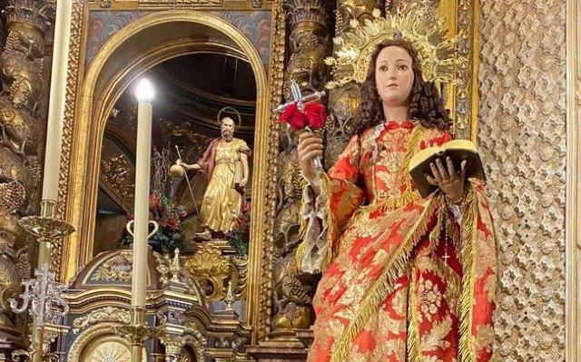 [Our patron Saint Eulalia is already among us