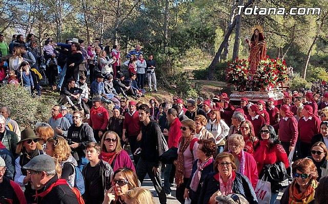 Lanzan una campaña pidiendo que la Romería de subida a la Santa de Totana se celebre el primer sábado después de Reyes, Foto 1