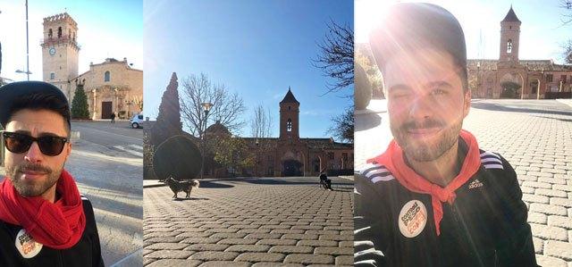 Un totanero realiza hoy 8 de enero la romer�a de subida a La Santa, porque es cuando toca, Foto 1