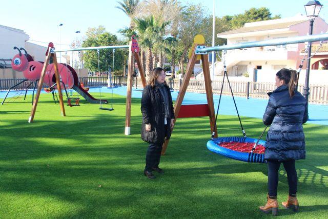 El Ayuntamiento de San Pedro del Pinatar reforma parques y zonas infantiles - 4, Foto 4