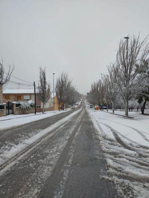 El temporal 'Filomena' regala dos días de nieve en Bullas - 1, Foto 1
