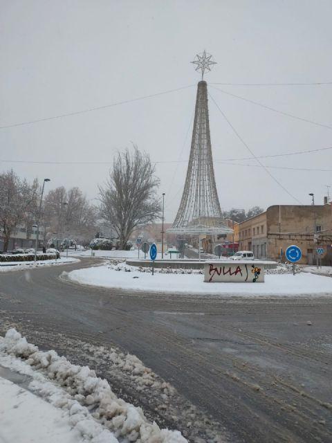 El temporal 'Filomena' regala dos días de nieve en Bullas - 2, Foto 2