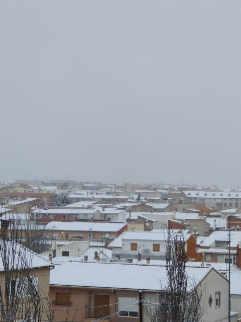 El temporal 'Filomena' regala dos días de nieve en Bullas - 3, Foto 3