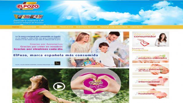 La web de ElPozo Alimentación duplica sus visitas hasta superar los tres millones en 2015, Foto 1
