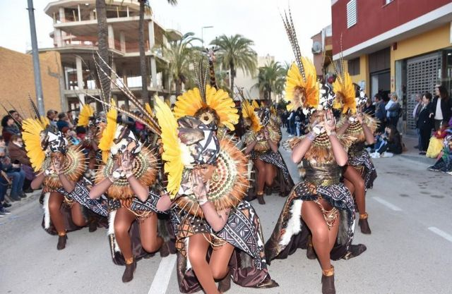 The Carnival parades begin this coming weekend with the spectacle of the Totana clubs this Saturday