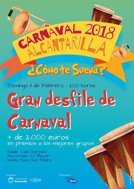 Alcantarilla celebra el próximo domingo el gran desfile de Carnaval y mañana viernes será el Infantil - 1, Foto 1