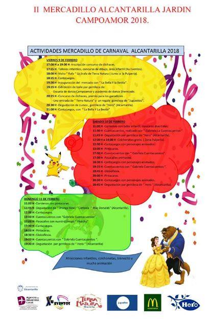 Alcantarilla tendrá en este fin de semana carnavalero, el II Mercadillo de Carnaval en el jardín de Campoamor y Chirigotas en el Centro Cultural Infanta Elena - 2, Foto 2