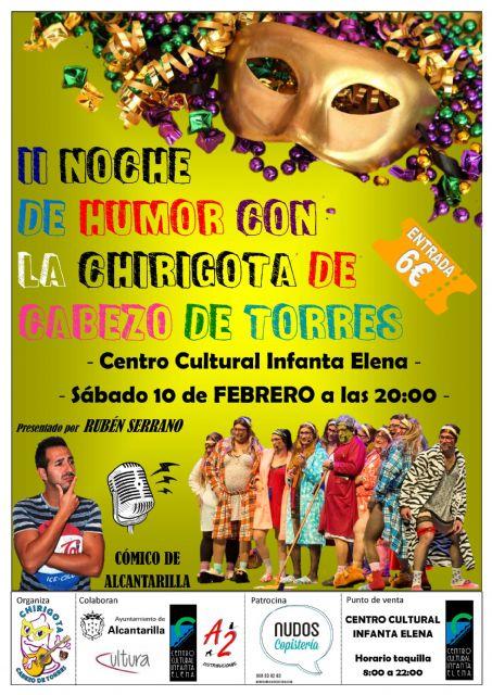 Alcantarilla tendrá en este fin de semana carnavalero, el II Mercadillo de Carnaval en el jardín de Campoamor y Chirigotas en el Centro Cultural Infanta Elena - 3, Foto 3