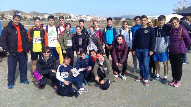 Un total de 18 escolares de Totana participan en la Final Regional de Campo Través de Deporte Escolar, para las categorías infantil, cadete y juvenil, Foto 1