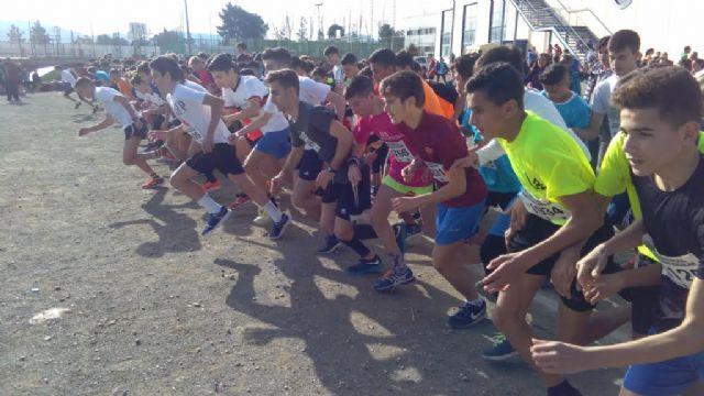 Un total de 18 escolares de Totana participan en la Final Regional de Campo Través de Deporte Escolar, para las categorías infantil, cadete y juvenil, Foto 2