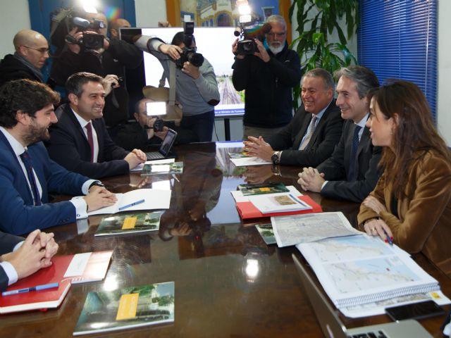 El Ministro de Fomento anuncia 838 metros de soterramiento en el municipio de Alcantarilla - 1, Foto 1
