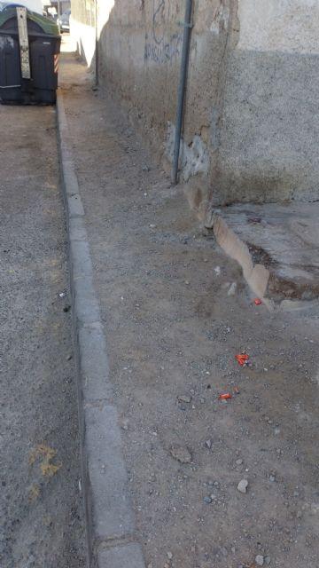 El Partido Cantonal de Cartagena denuncia que los vecinos de Canteras esperan cuatro años la renovación de las aceras - 4, Foto 4