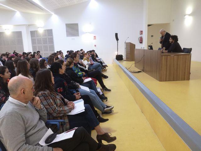 El Presidente del Consejo de la Transparencia de la Región de Murcia en el IES Francisco Ros Giner - 3, Foto 3
