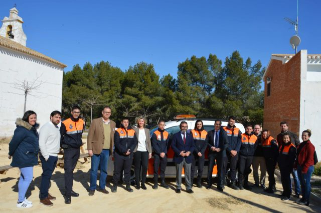 Protección Civil del Valle de Ricote estrena nuevo vehículo - 3, Foto 3